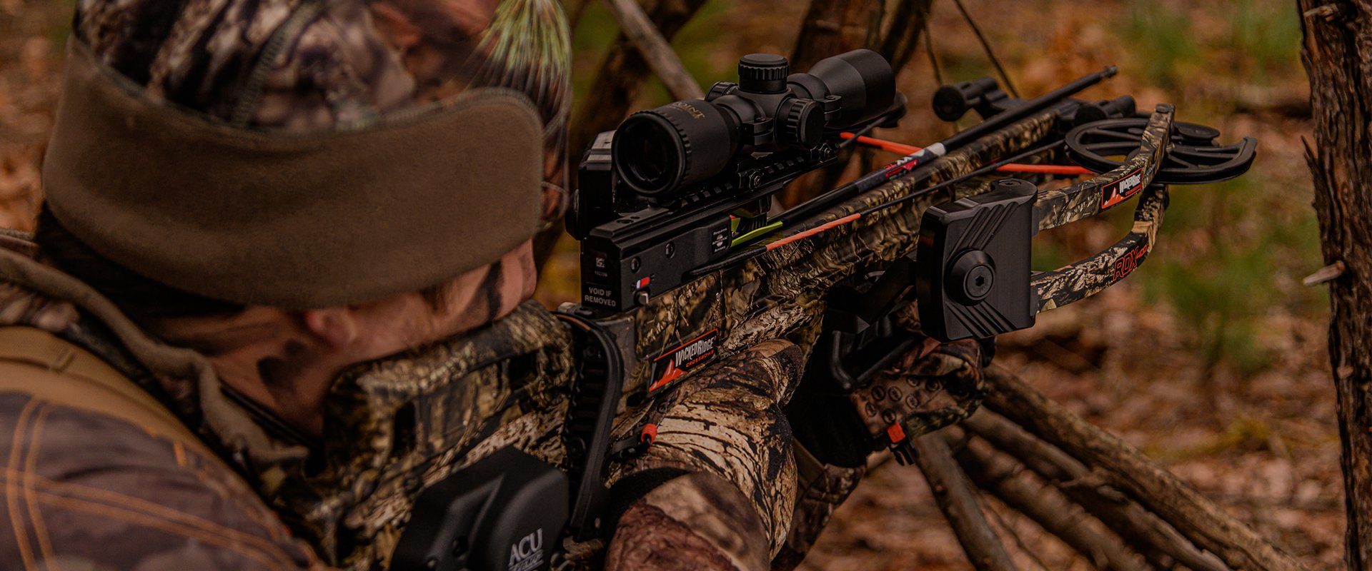 RDX 400 Crossbow in the Woods