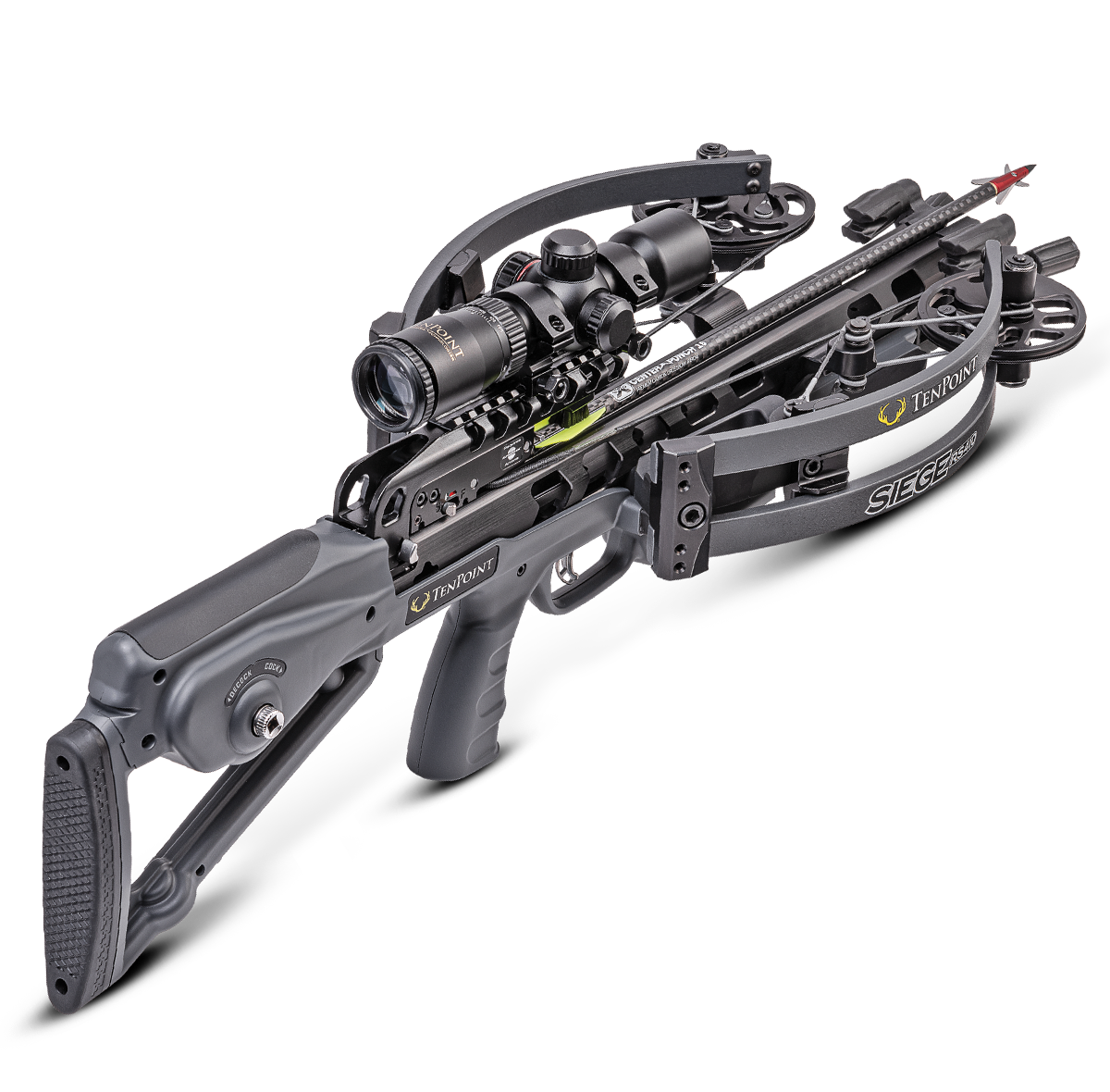 TenPoint Siege RS410 Crossbow (Graphite)